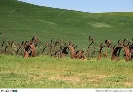 Wagon Wheel Fence Stock Photo 4391616 Megapixl