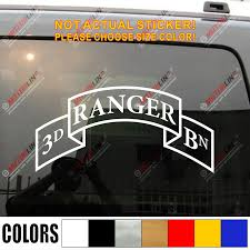 3rd Ranger Bn Infantry Company Airborne Battalion Army Car Truck Decal Sticker Vinyl Die Cut You Choose Size And Color Sticker Box Vinyl Tree Wall Decalsvinyl Cut Sticker Aliexpress