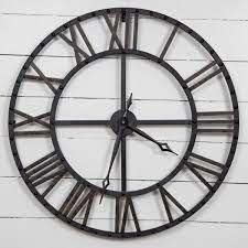 and bronze metal wall clock 18fp1440e