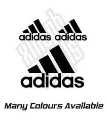 Car Truck Decals Stickers Car Truck Parts Pair Of Adidas Stickers For Phone Back Or Case 1 5 Vinyl Decal Moonnepal Com