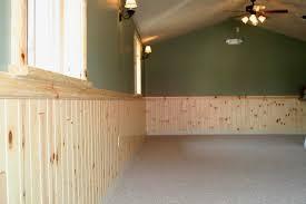 egular 1x4 pine paneling wainscoting