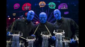 blue man group tour live never before