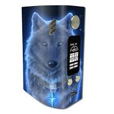 Skin Decal For Wismec Reuleaux Rx300 Glowing Celestial Wolf Itsaskin Com