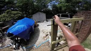 Best Diy Wood Gate Hinges Youtube