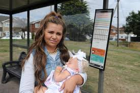 Mother is disgusted as bus driver yelled to 'shut the baby up'   Echo