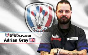 Adrian Gray and Michaël Valentin are named as DARTSLIVE OFFICIAL PLAYER. |  News | DARTSLIVE United Kingdom | DARTSLIVE