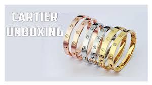 cartier love bracelet unboxing is it