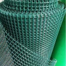 Dark Green Plastic Garden Fence Knitted Hdpe With Uv Resistant 20 20mm Mesh