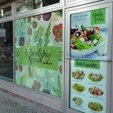 Restaurant Window Clings Printing Uprinting Com