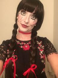 costume idea broken doll