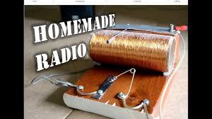 homemade radio you