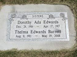 Dorothy Ada Edwards (1916-1917) - Find A Grave Memorial