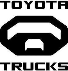Toyota Trucks Decal Sticker 04
