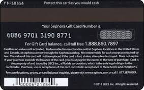 gift card black and white script