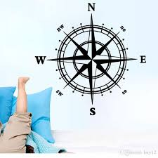 Wholesale Compass Wall Stickers Art Mural Wall Decal Living Room Bedroom Specialized Wallpaper Decoration Poster Home Decal Decor Stickers Decor Stickers For Walls From Kity12 3 02 Dhgate Com