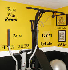 Fitness Exercise Word Pack Beautiful Wall Decals