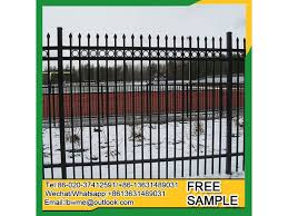 China Vancouver Modern Steel Fence Manufacturer Factory Supplier 478