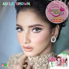Adele Brown Eff.15 - Bigeyejaidee 69฿ สุดยอด!!คอนแทคเลนส์ราคาถูก ...
