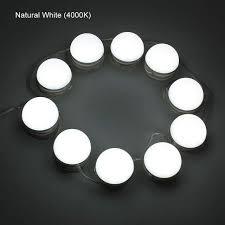 mirror vanity led light 10 bulbs string