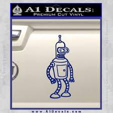 Futurama Bender Decal Sticker A1 Decals