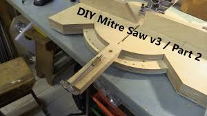 Pivoting Mitre Saw Base Part 2 Fence And Angle Locking Mechanism Youtube