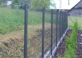 Pvc Coated Security Protected Fence Wire Mesh Fence
