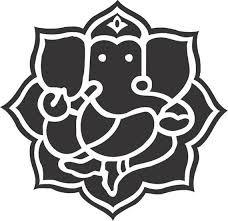 Ganesh Vinyl Decal Etsy