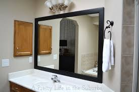 frame your mirror a pretty life in