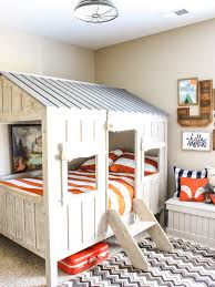 Rustic Cabin Adventure Room Reveal Chaotically Creative