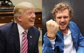 Iron Fist' star Finn Jones blames Donald Trump for bad reviews   NME