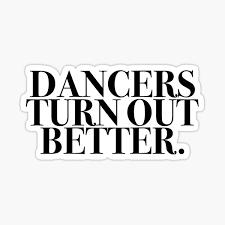 Dance Stickers Redbubble