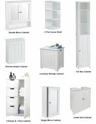 tall slim mirrored bathroom cabinet