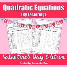 algebra quadratic equations