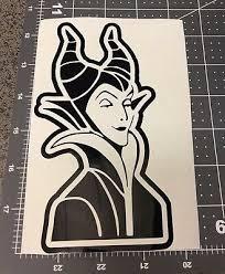 Maleficent Sleeping Beauty Disneyland Vinyl Decal Sticker For Windows Car Ebay