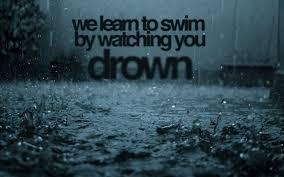 swim text overlay on gray background