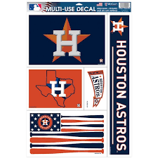 Official Houston Astros Car Decals Astros Auto Truck Emblems Mlbshop Com