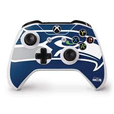 Seattle Seahawks Large Logo Xbox One S Controller Skin Nfl