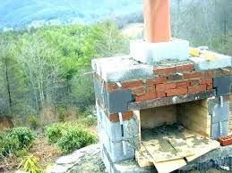 build outdoor fireplace outdoor