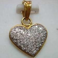 real diamond pendent indian jewelry