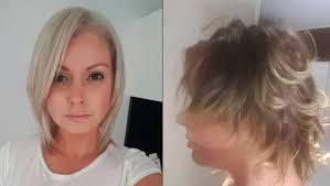 mullet haircut ruins australian woman