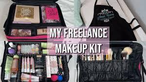 my freelance makeup kit essentials