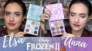 colourpop disney frozen 2 elsa and