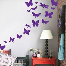 Pin By Melissa Ernst On Ideas For Kaylee S Bdrm Butterfly Wall Butterfly Wall Decals Wall Stickers Kids