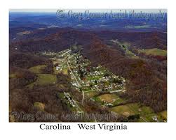 Aerial Photo of Carolina, West Virginia – America from the Sky