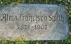 Alma Francisco Smith (1872-1967) - Find A Grave Memorial