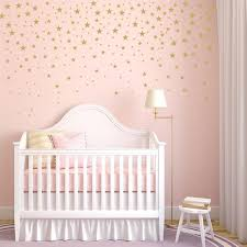 Gold Stars Wall Decals Pack Peel And Stick Confetti Wall Etsy