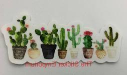 Cactus Decal Cardecal