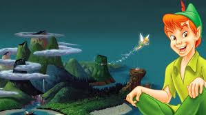 peter pan and tinker bell in return to
