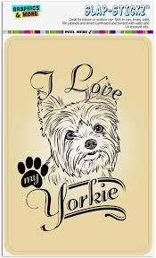 Yorkie Sign Decal Gift V03 Car Window Sticker Yorkshire Terrier On Board