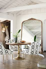 how high to hang a mirror